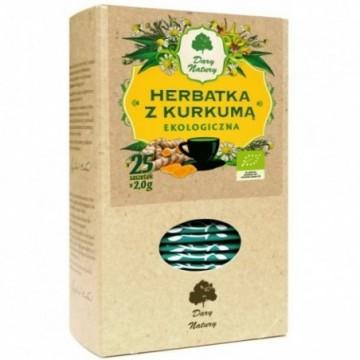 HERBATA Z KURKUMA 25X2g...